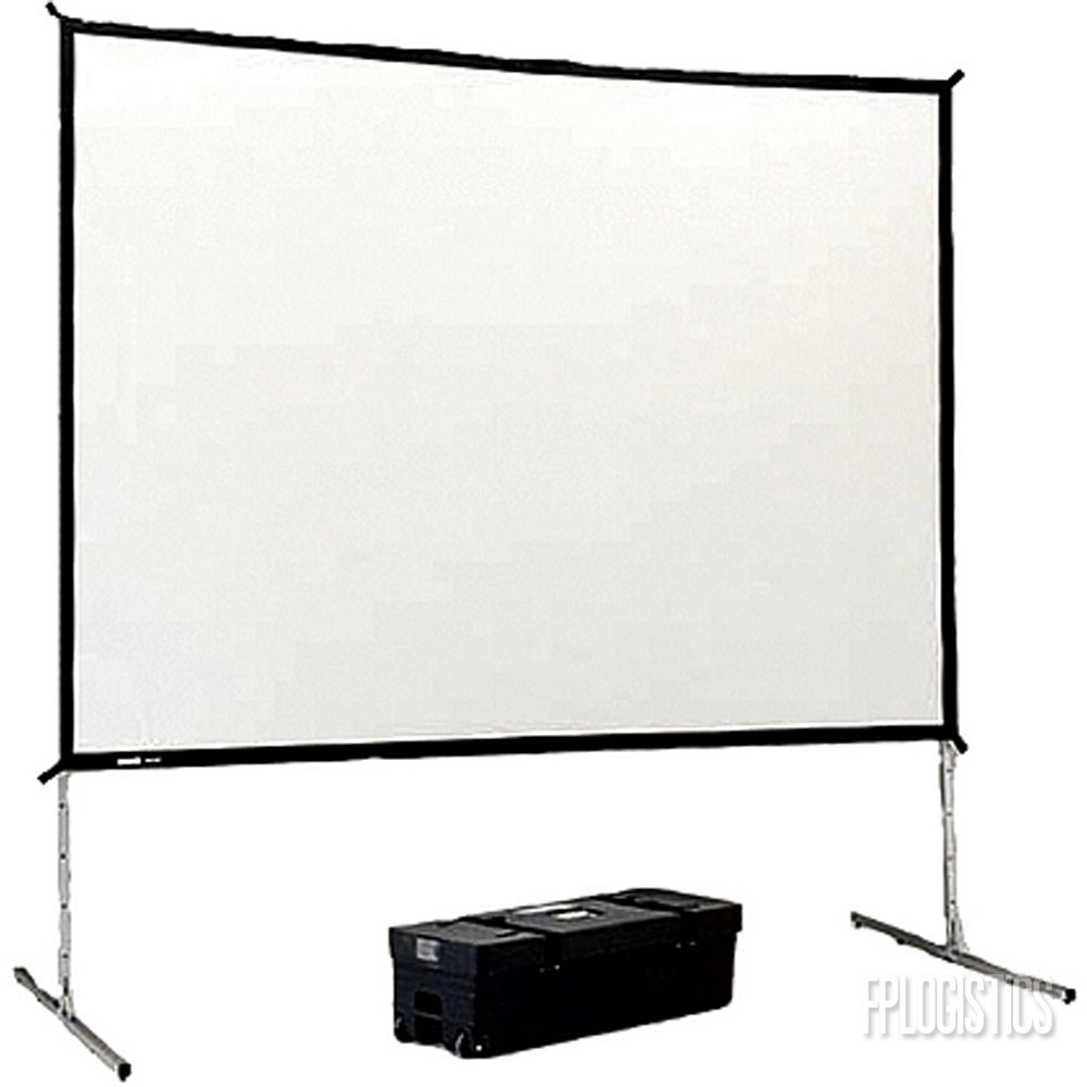 "100"" Projection Screen Image"